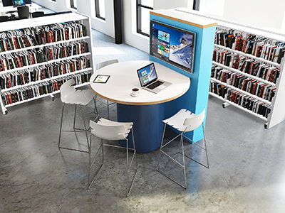 Modern Collaborative Library Spaces