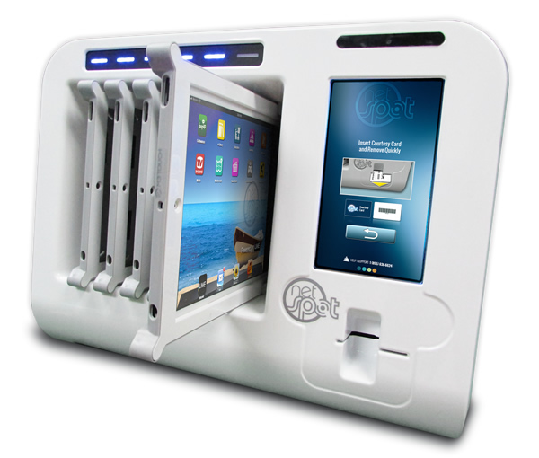 Netspot Ipad Tablet Notebook Kiosk