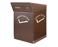 All weather book return units - Gresswell
